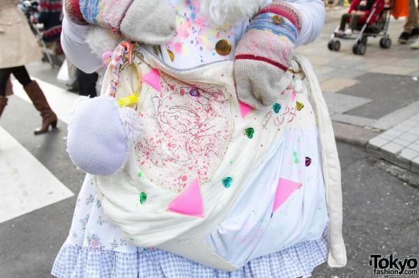 Handmade purse from Bag AAbab × Gunji Yusuke