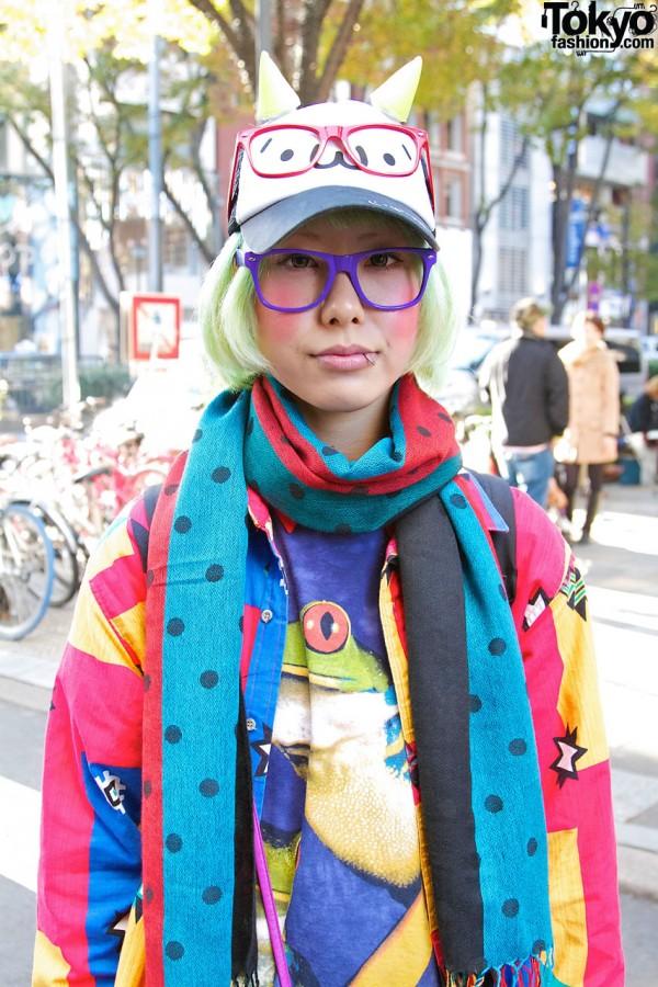 Resale Jacket & Frog Shirt in Harajuku