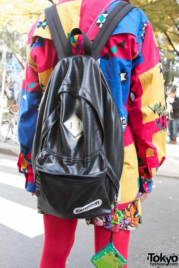 Rat Fink Charm & Backpack