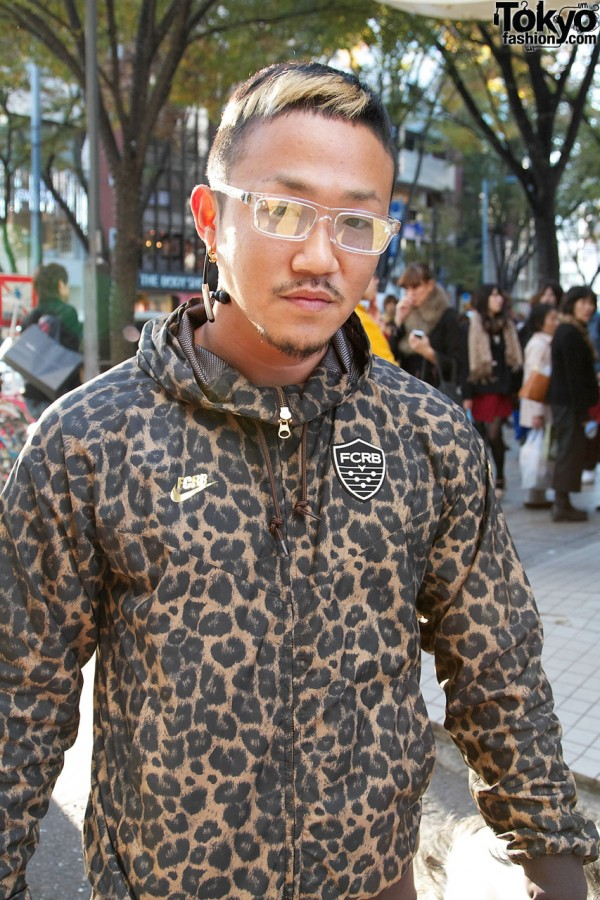Stylish Harajuku Runner in FCRB Track Suit