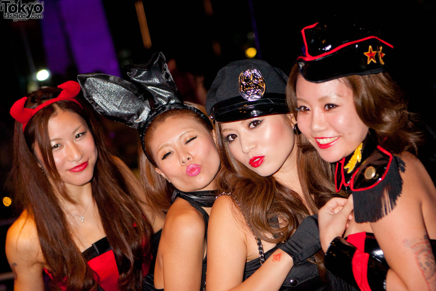 Tokyo Halloween Party Pictures by American Apparel x Mercedes Benz