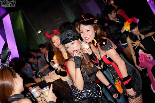 Tokyo Halloween Party by American Apparel (38)
