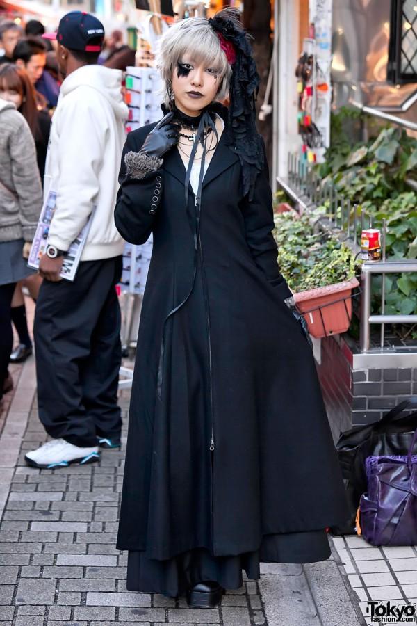 Gothic Fashion on Takeshita Dori in Harajuku