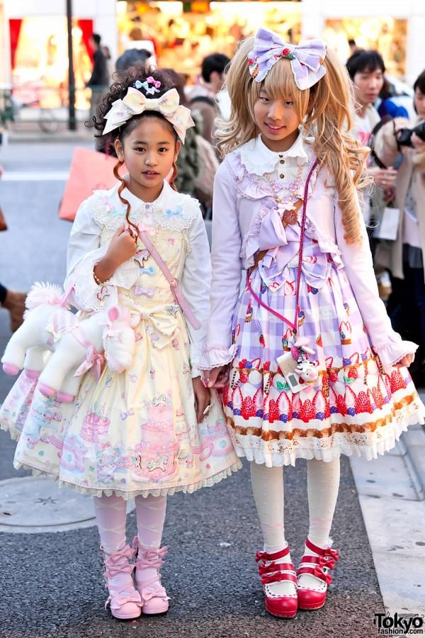 Angelic Pretty Lolita Fashion in Harajuku