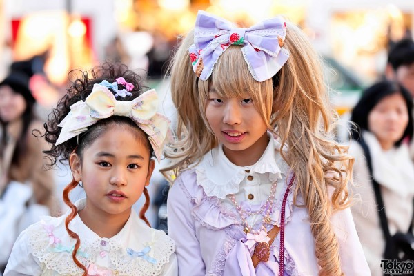 Japanese Sweet Lolitas in Harajuku