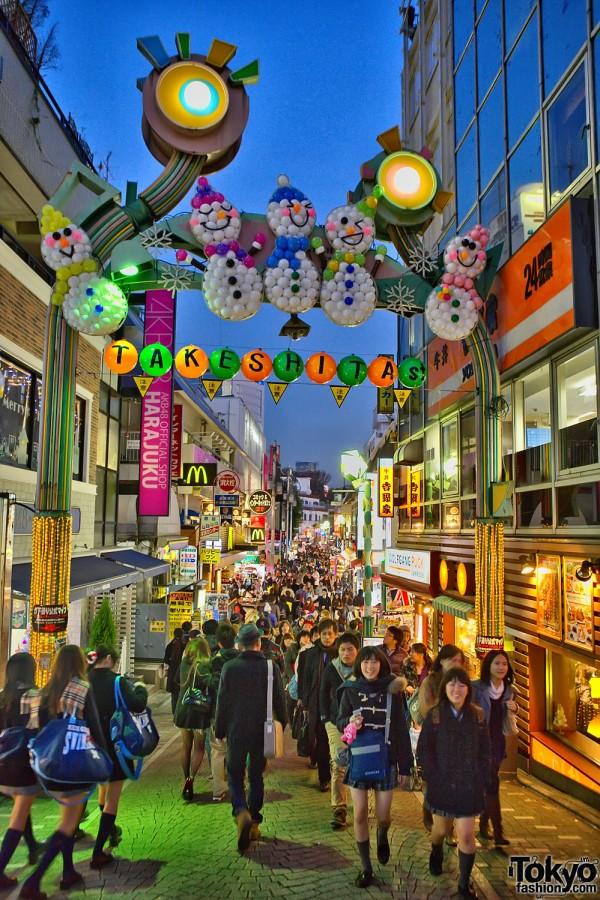 Takeshita Dori - Harajuku Christmas (85)