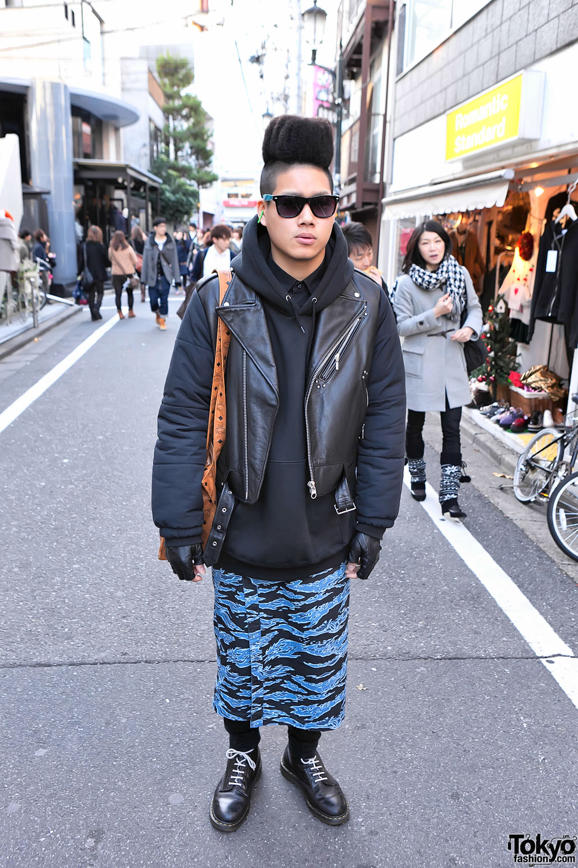 4jigen Fashion Designer Kouhei W Hi Top Fade Hairstyle In