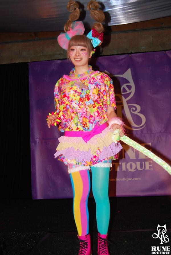 Kyary Pamyu Pamyu at 6%DOKIDOKI Fashion Show