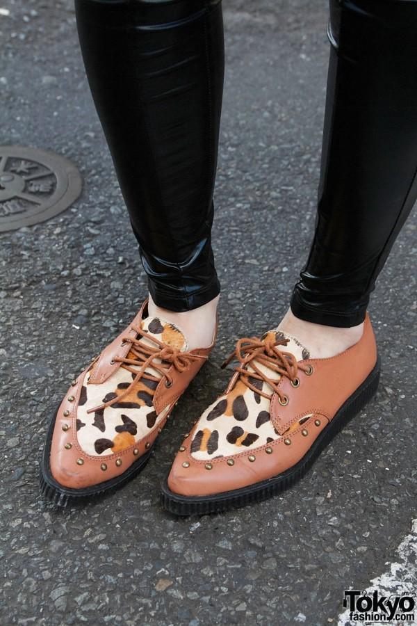 Shagadelic shoes in Harajuku