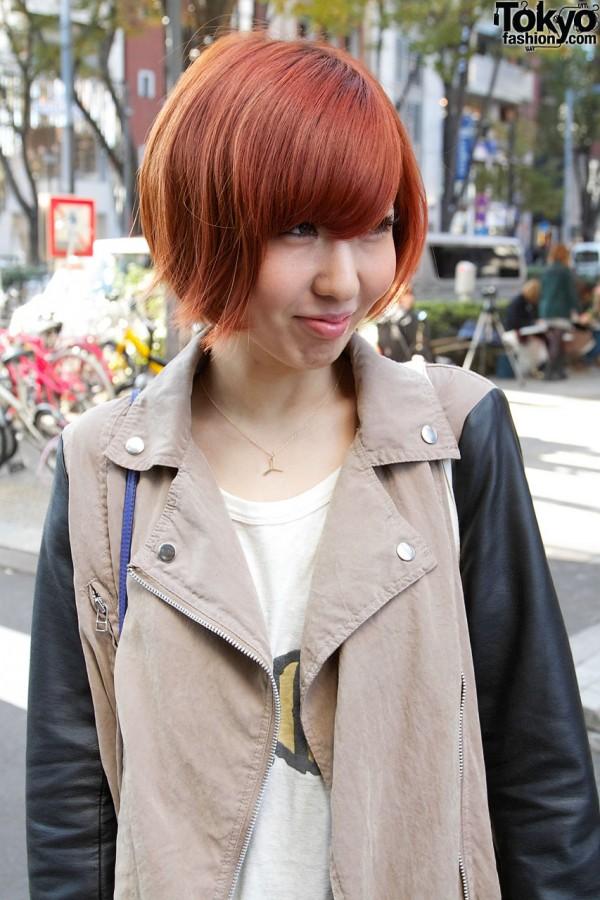 Naichichi coat in Harajuku