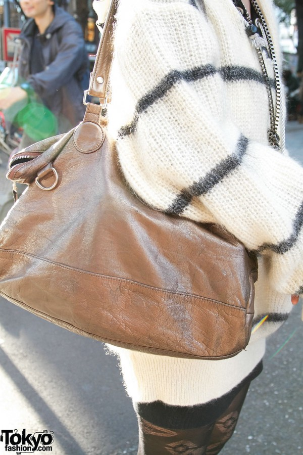 Leather purse from Tsumori Chisato