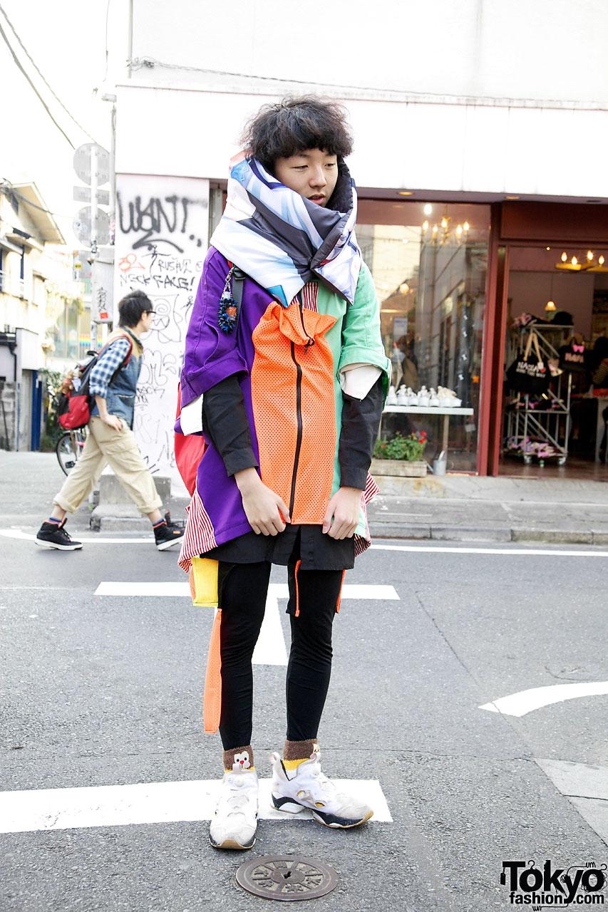 Handmade Jacket Made From Repurposed Pants