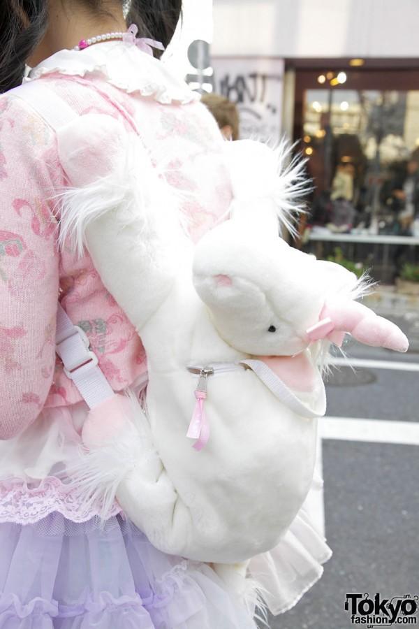 Cute Spank! unicorn backpack