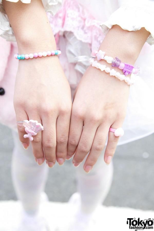 Nile Perch & Spank! plastic jewelry