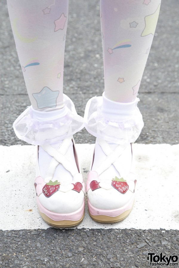 Baby the Stars Shine Bright shoes in Harajuku