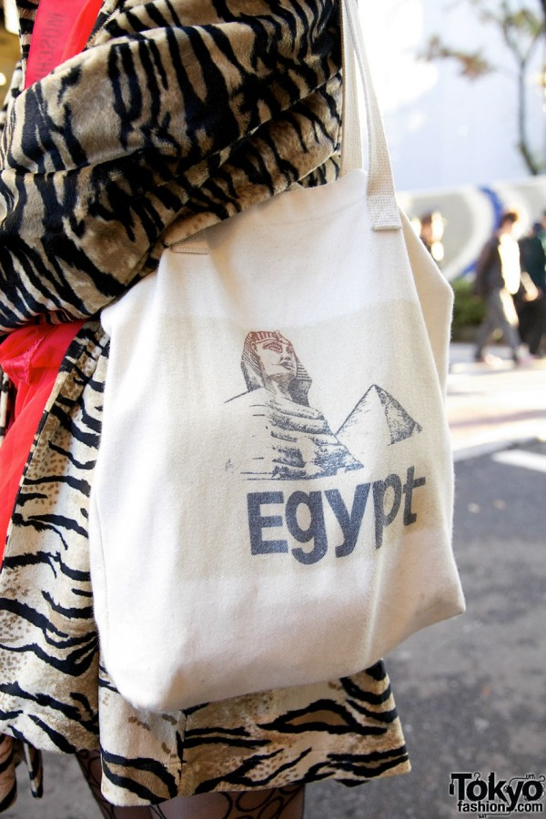 Egypt bag from American Apparel in Harajuku