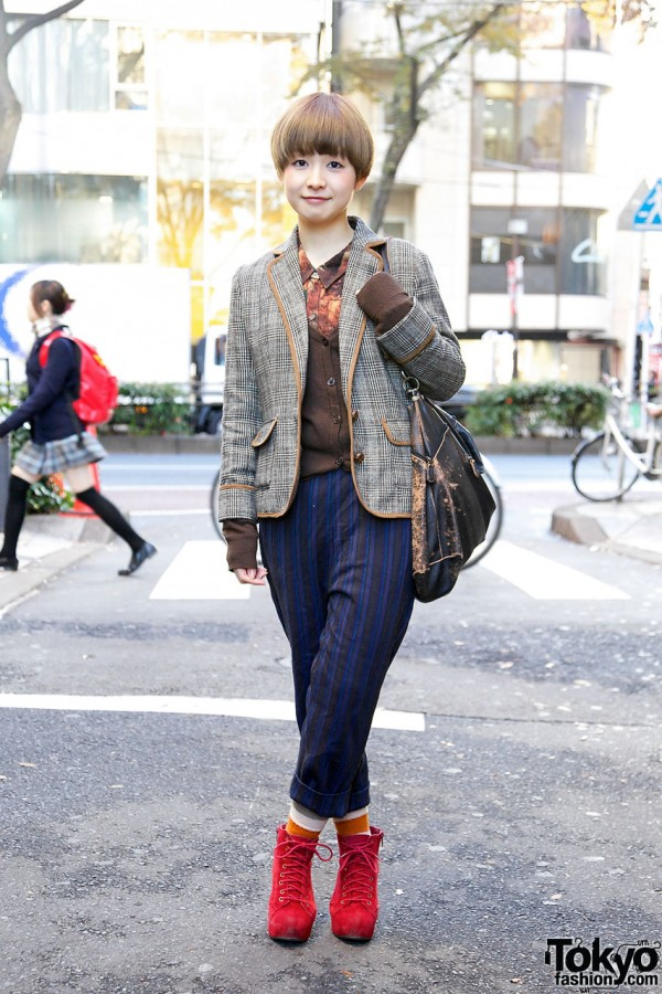 Nice Claup Jacket, Resale Cropped Pants & Suede Heather Booties