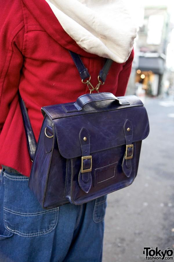 Satchel backpack purchased in Kobe