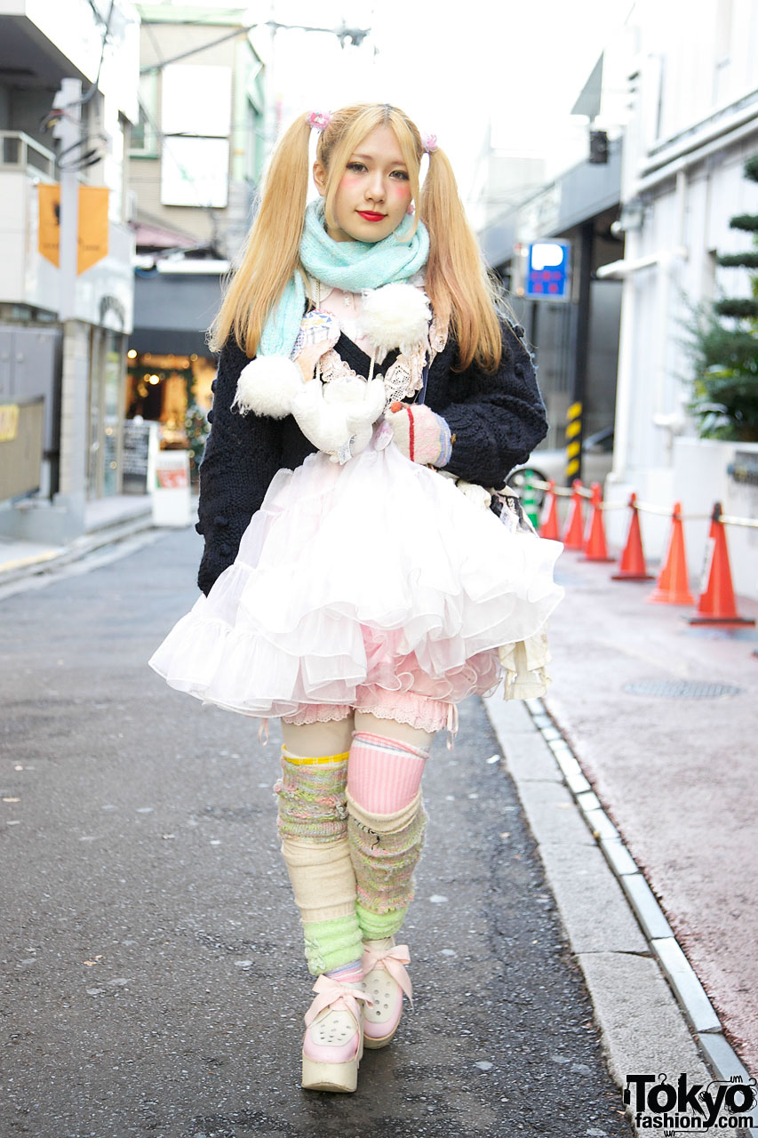 Tokyo Bopper Minami in Tulle Skirt & Bloomers