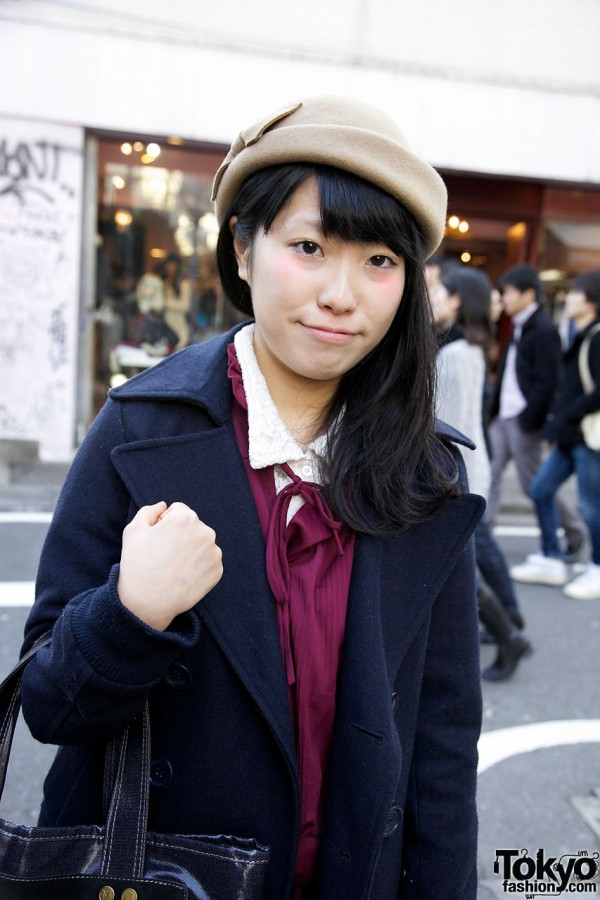 Vintage Dress in Harajuku