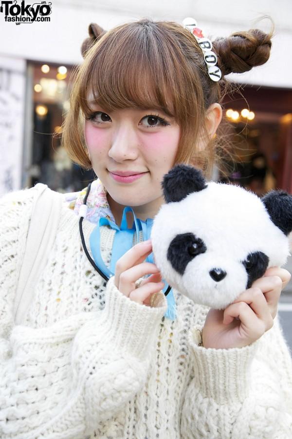 Maho & Her Friend the Panda