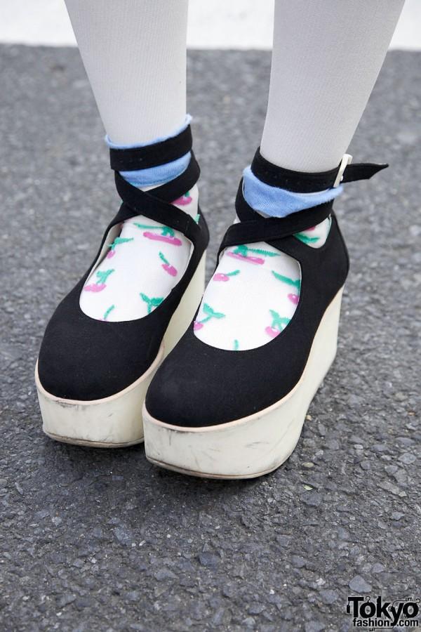 Tokyo Bopper Platform Shoes in Harajuku