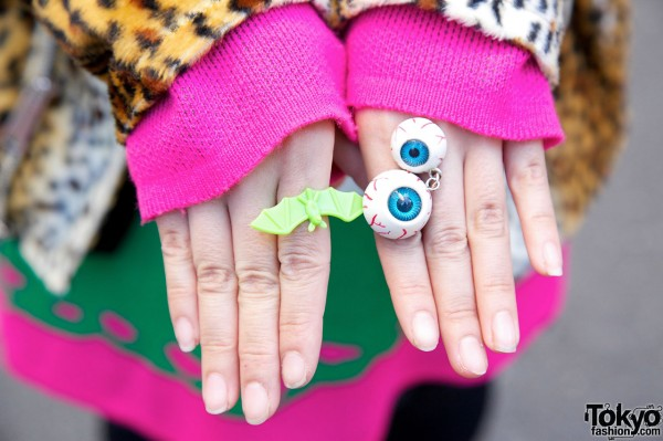 Eyeballs Ring in Harajuku