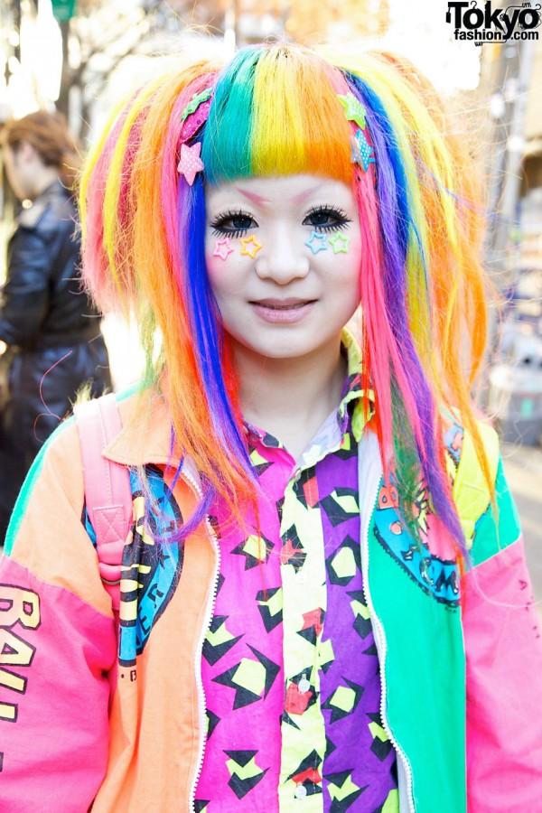 Harajuku Rainbow Decora Maimai