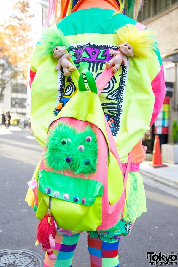 Trolls & Googly Eyes Backpack