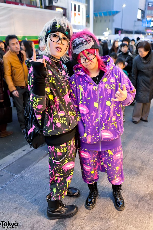 ACDC Rag Street Fashion in Harajuku