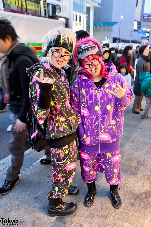 Fun Harajuku Girls in ACDC Rag
