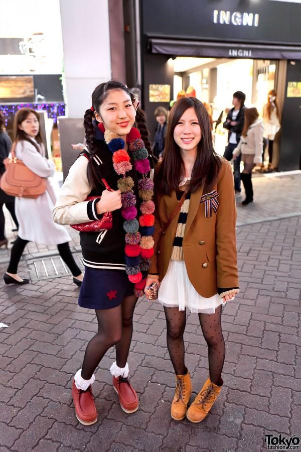 Girls Letterman Jacket & Blazer in Shibuya