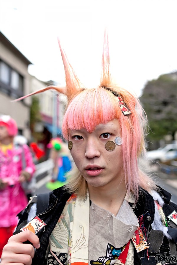 Maro at Harajuku Fashion Walk