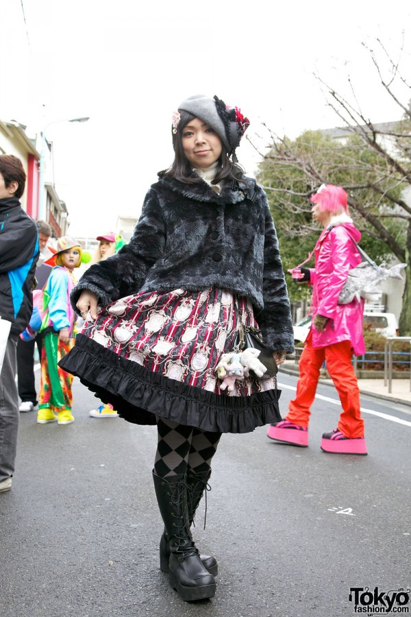 Harajuku Fashion Walk Street Snaps