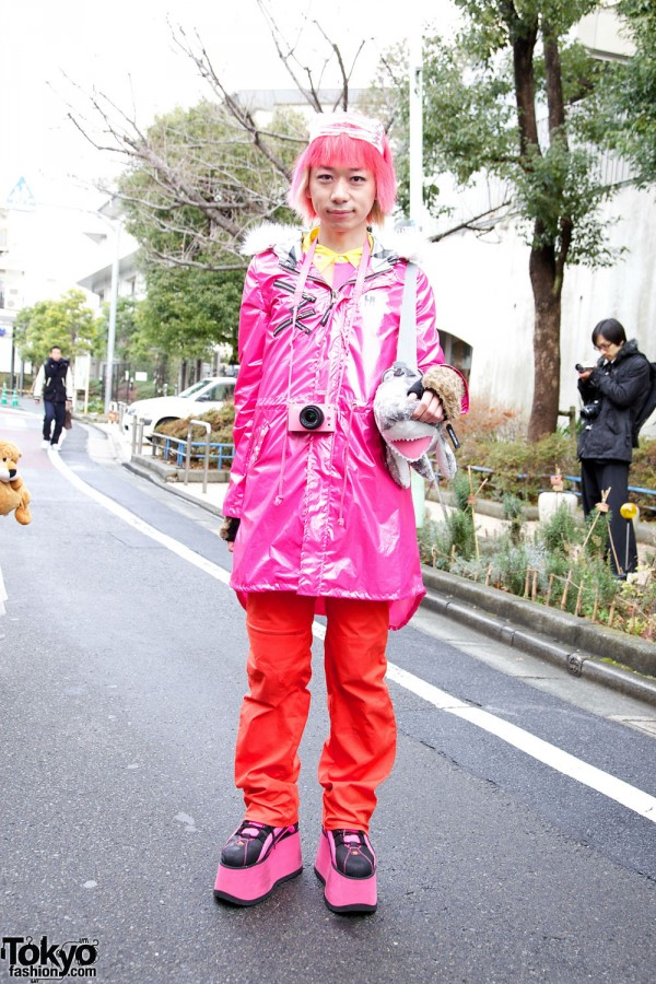 Junnyan at Harajuku Fashion Walk