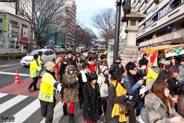 LaForet Harajuku Fukubukuro Shoppers