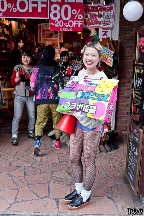 Mikki from Spinns Harajuku
