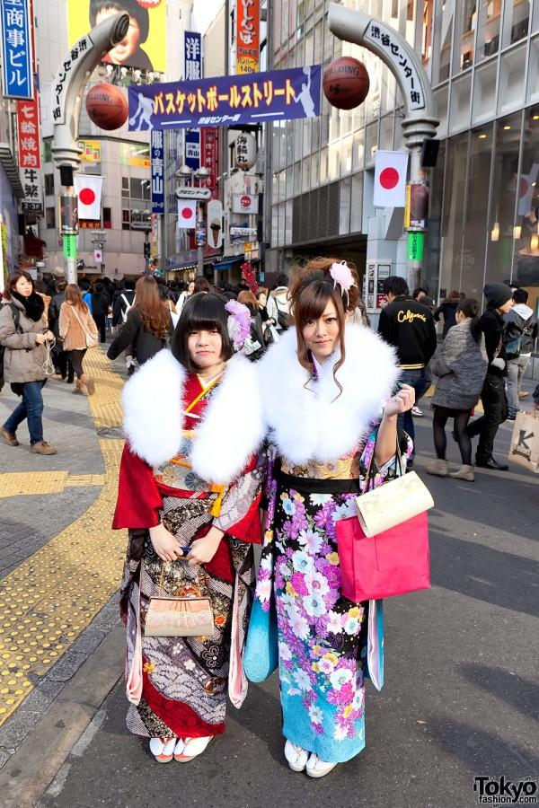 Kimono in Tokyo - Seijin no Hi (1)