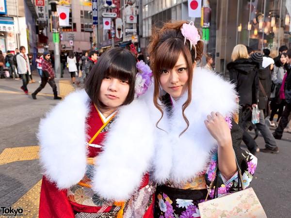 Kimono in Tokyo - Seijin no Hi (2)