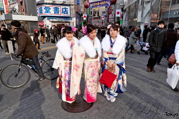 Kimono in Tokyo - Seijin no Hi (3)