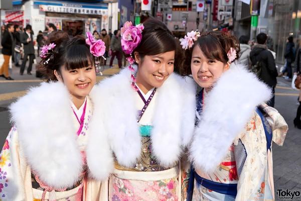 Kimono in Tokyo - Seijin no Hi (4)