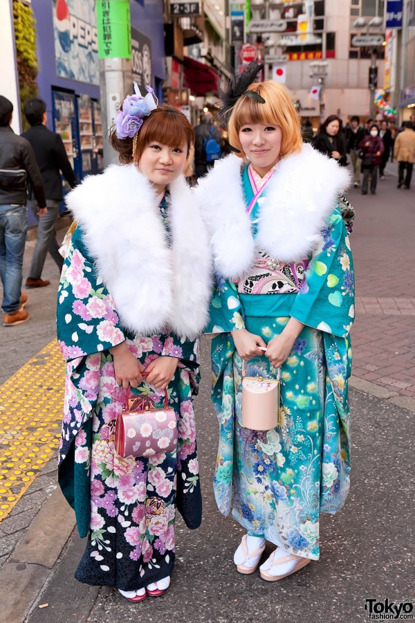 Kimono in Tokyo - Seijin no Hi (5)
