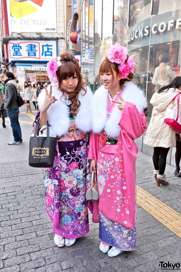 Kimono in Tokyo - Seijin no Hi (7)