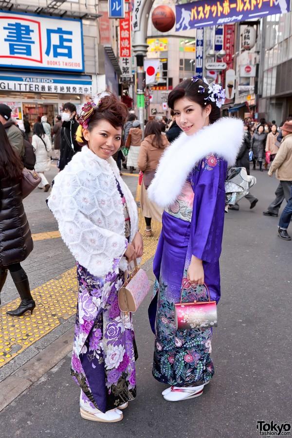 Kimono in Tokyo - Seijin no Hi (9)