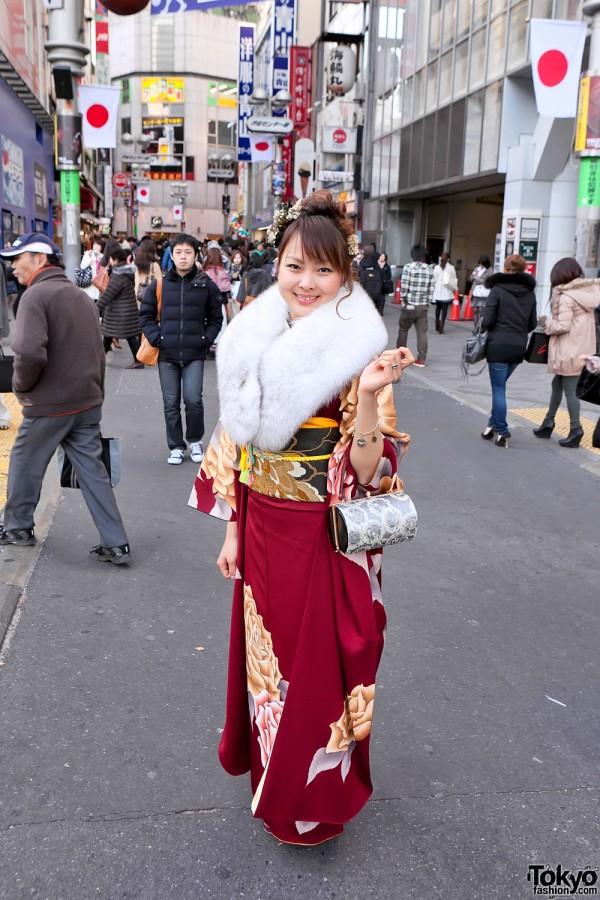 Kimono in Tokyo - Seijin no Hi (11)