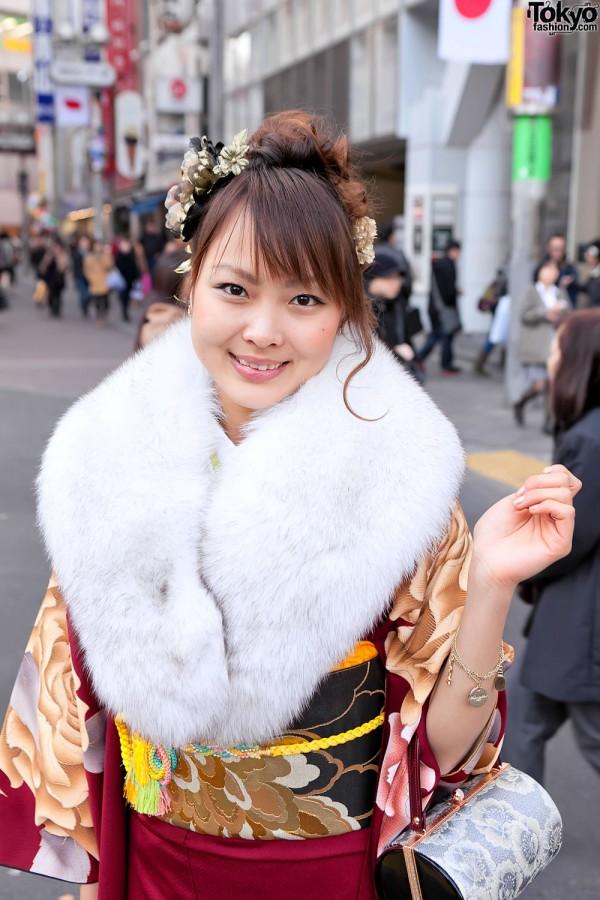 Kimono in Tokyo - Seijin no Hi (12)