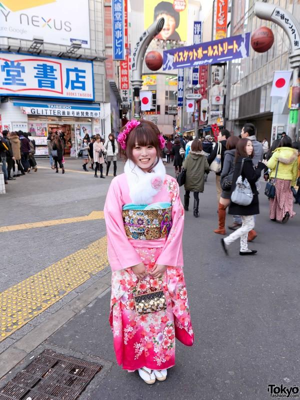 Kimono in Tokyo - Seijin no Hi (13)