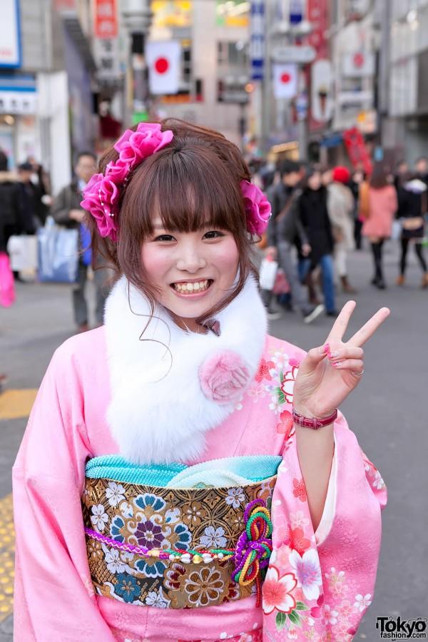 Kimono in Tokyo - Seijin no Hi (14)