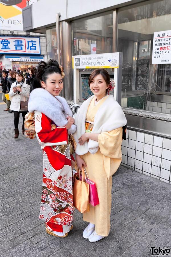 Kimono in Tokyo - Seijin no Hi (15)