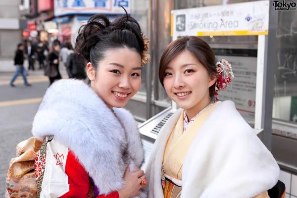 Kimono in Tokyo - Seijin no Hi (16)